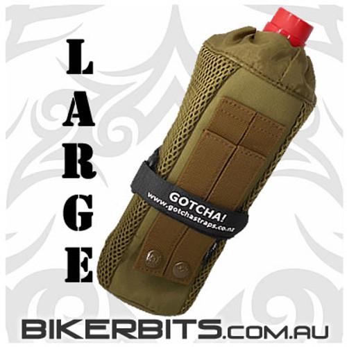 Motorcycle Biker Molle Bottle Holder Bag