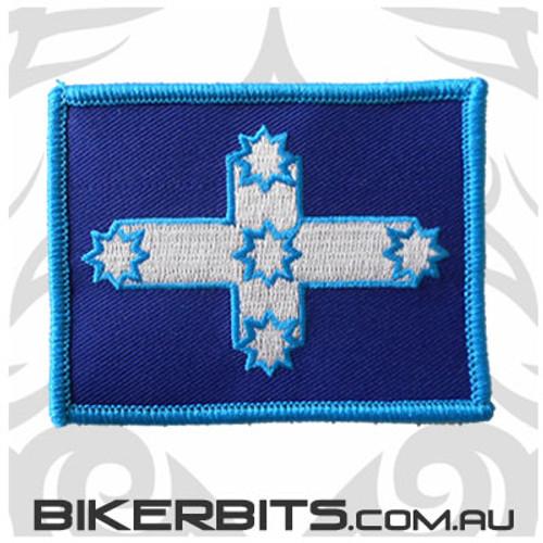 Eureka Flag Biker Patch