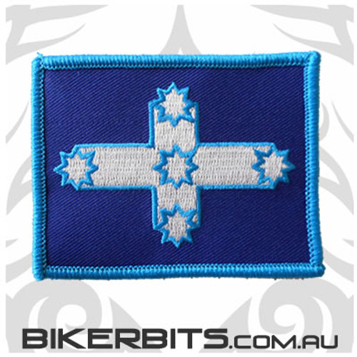 Eureka Flag Biker Patch