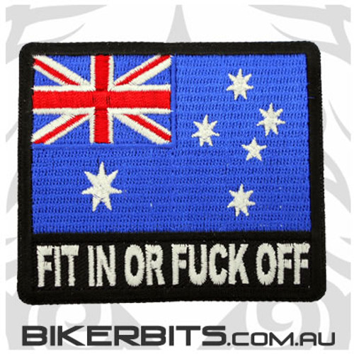 Patch - Australian Flag - Fit In