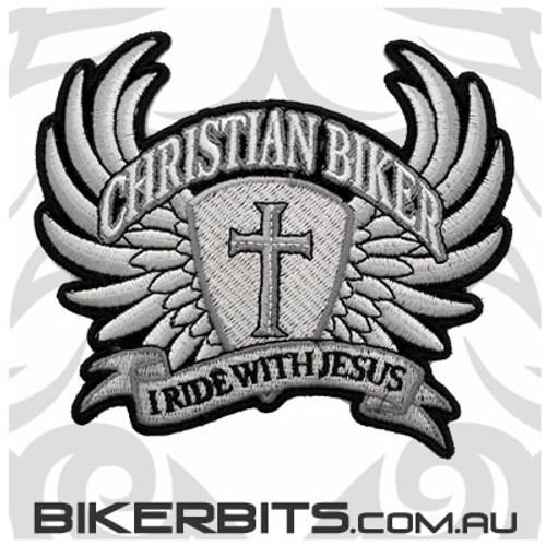 Patch - Christian Biker Wings