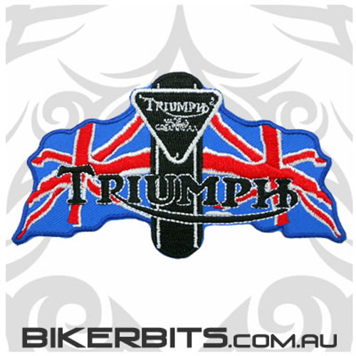 Patch - Triumph 2 Flags - NEW