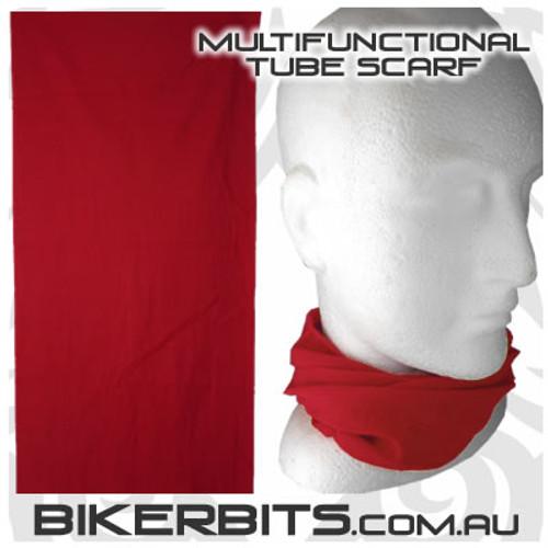 Headwear - Multifunctional Tube Scarf - Burgundy