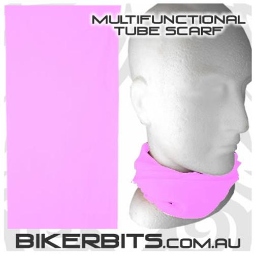 Headwear - Multifunctional Tube Scarf - Baby Pink