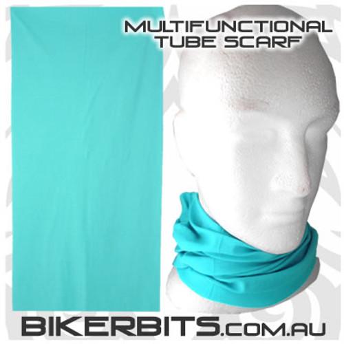 Headwear - Multifunctional Tube Scarf - Aqua