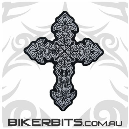 Patch Reflective - Crucifix - Small