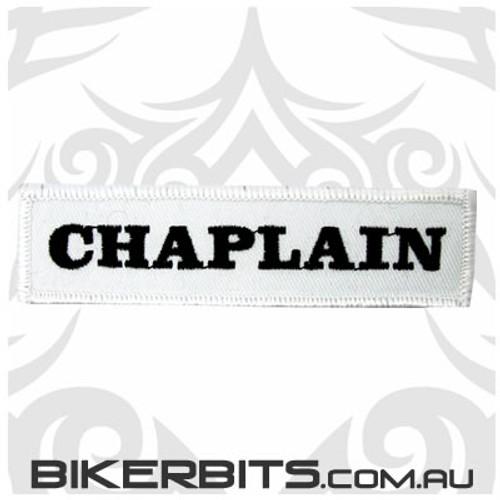 Patch - Biker Club CHAPLAIN 1