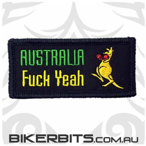 Patch - Australia - F*ck Yeah
