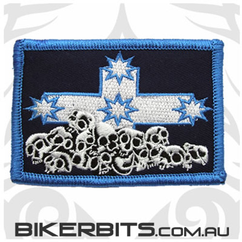 Patch - Eureka Flag with Skulls