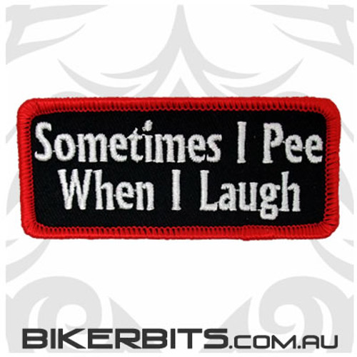 Patch - Sometimes I Pee When I Laugh