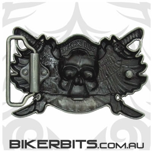 Belt Buckle - Asphalt Attitude