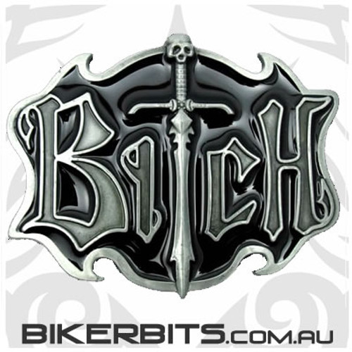 Belt Buckle - Bitch