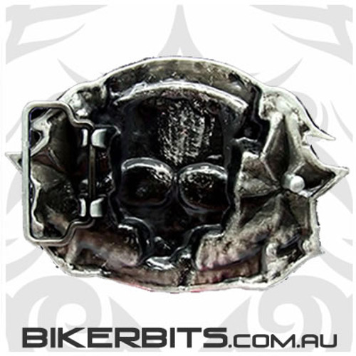 Belt Buckle - Lucky 13 - Tattoo Your Soul
