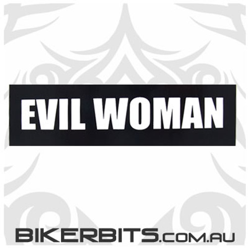 Helmet Sticker - Evil Woman