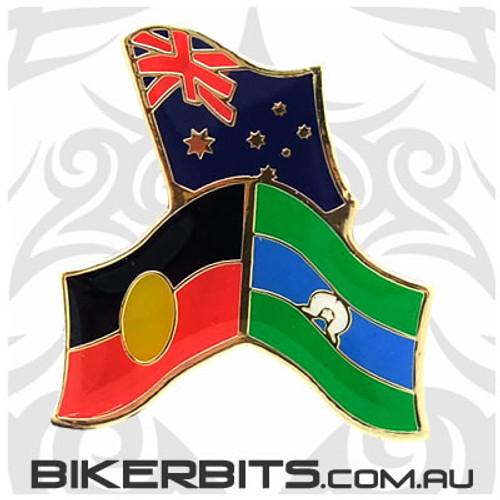 Lapel Pin - Flags of Australia