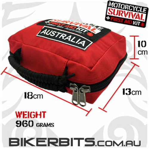 Motorcycle Survival First Aid Kit
