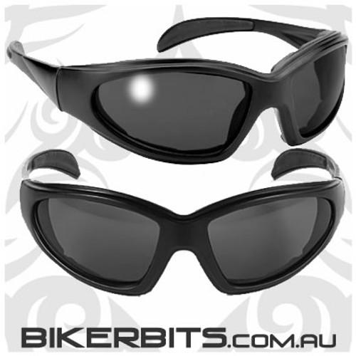 Motorcycle Sunglasses - Chopper - Smoke