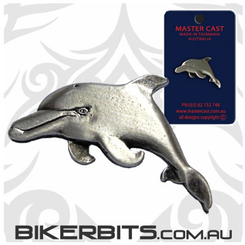 Lapel Pin - Dolphin - Pewter