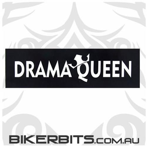 Helmet Sticker - Drama Queen