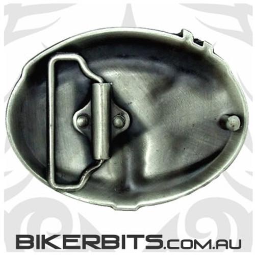 Belt Buckle - Old Skool Biker