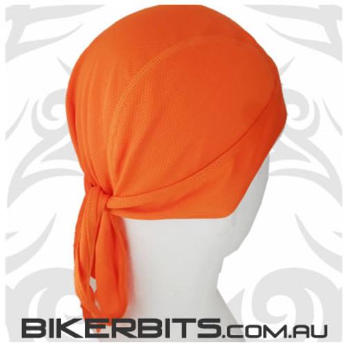 Headwear - Headwrap - Orange - Stretchy