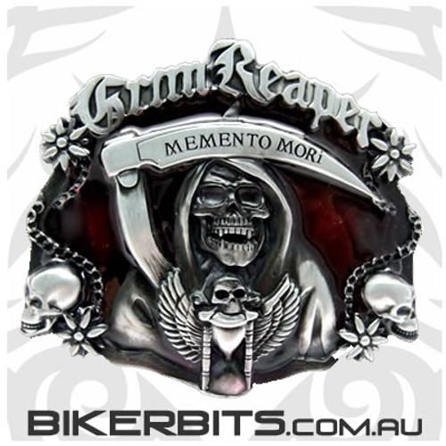 Belt Buckle - Grim Reaper