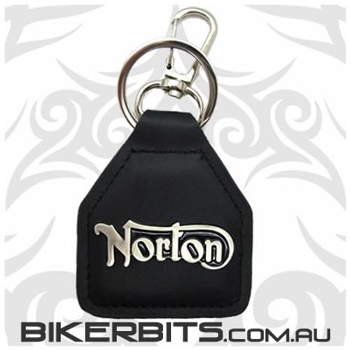 Keyring - Norton Leather Key Fob