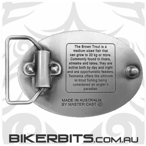 Belt Buckle - Wild Trout Tasmania