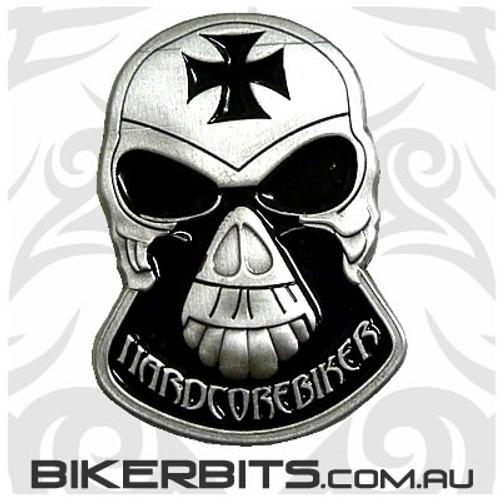 Lapel Pin - Hardcore Biker