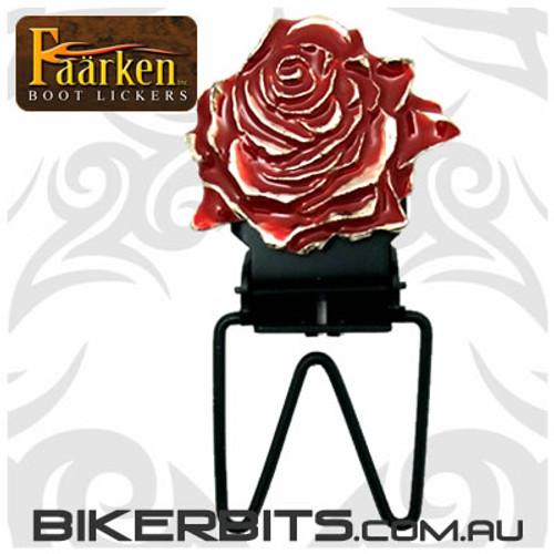 Faarken Biker Boot Lickers - Rose