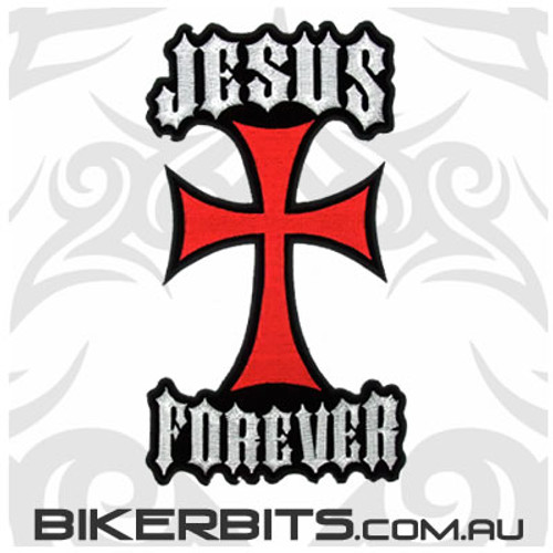Patch - Jesus Forever - Large