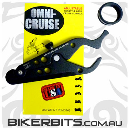Omni-Cruise - Universal Motorcycle Throttle Lock