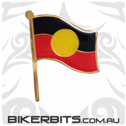 Lapel Pin - Aboriginal Flag