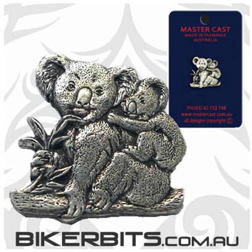 Lapel Pin - Koala - Pewter