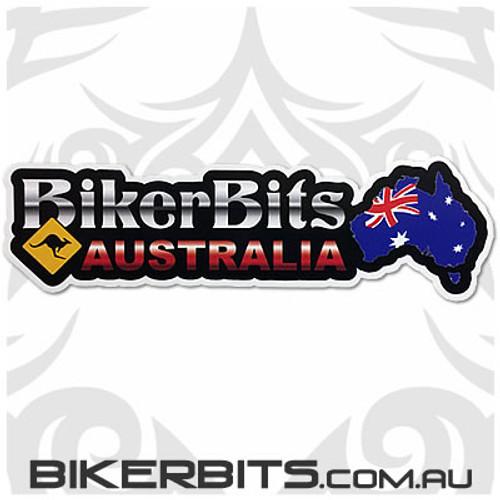 Biker Decal - Biker Bits Australia