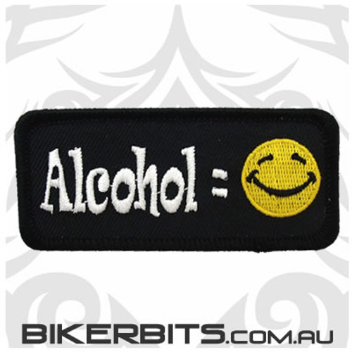Patch - Alcohol = Smile