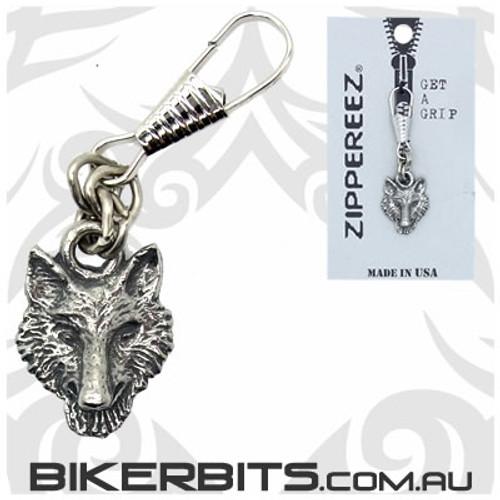 Zippereez Zipper Pull - Wolf