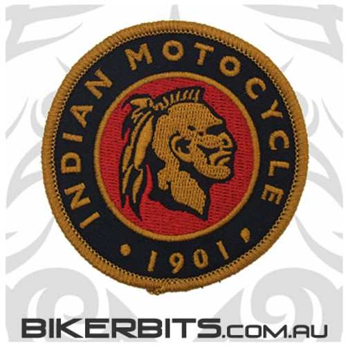 Patch - Retro Indian Motocycle 1901