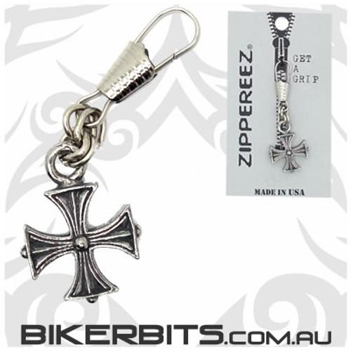 Zippereez Zipper Pull - Iron Cross