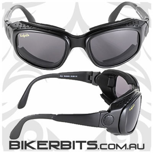 Motorcycle Sunglasses/Goggles - Airfoils - 9100