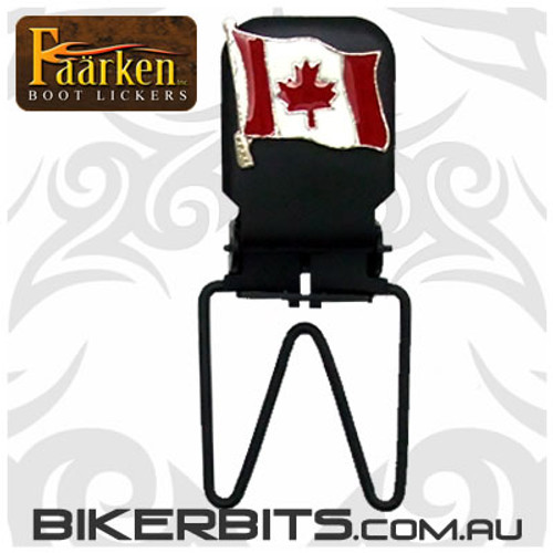 Faarken Biker Boot Lickers - Canadian Flag