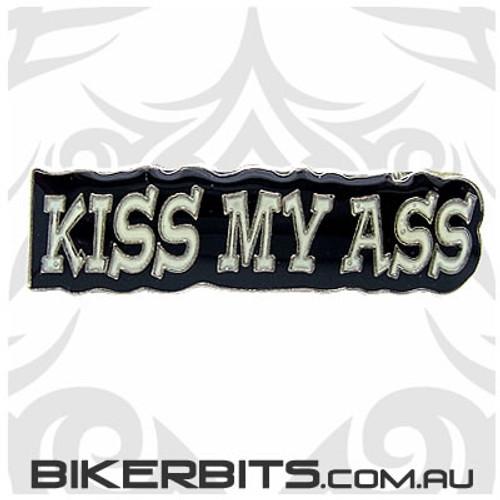 Lapel Pin - Kiss My Ass
