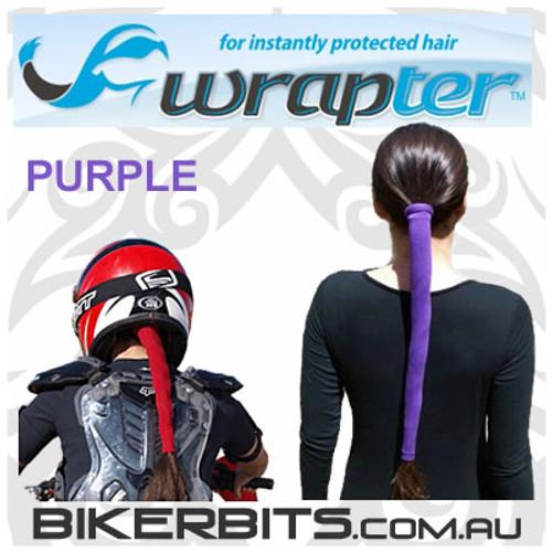 Headwear - Wrapter Hair Wrap - Purple
