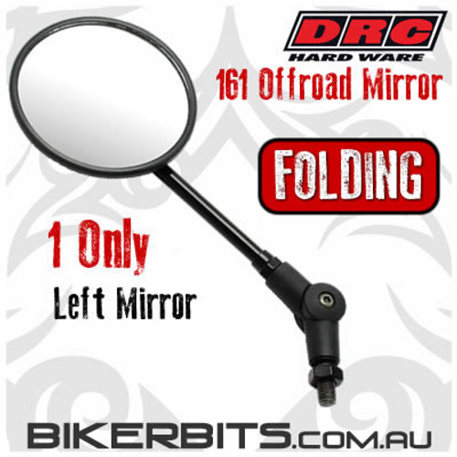 DRC - 161 Offroad Folding Mirror - LEFT