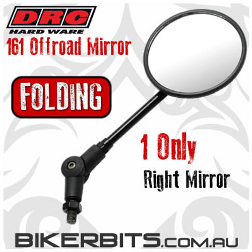 DRC - 161 Offroad Folding Mirror - RIGHT