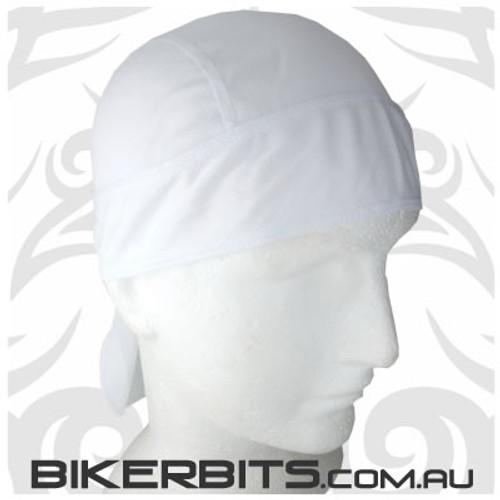 Headwear - Headwrap - White - Stretchy