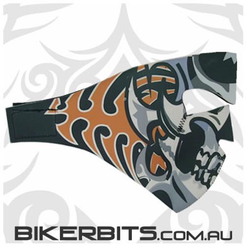 Headwear - Neoprene Full Face Mask - Tribal Skull