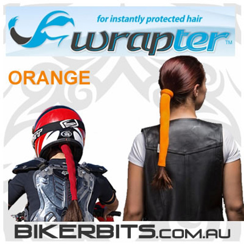 Headwear - Wrapter Hair Wrap - Orange