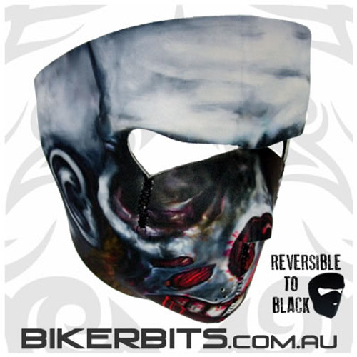Headwear - Neoprene Full Face Mask - Zombie