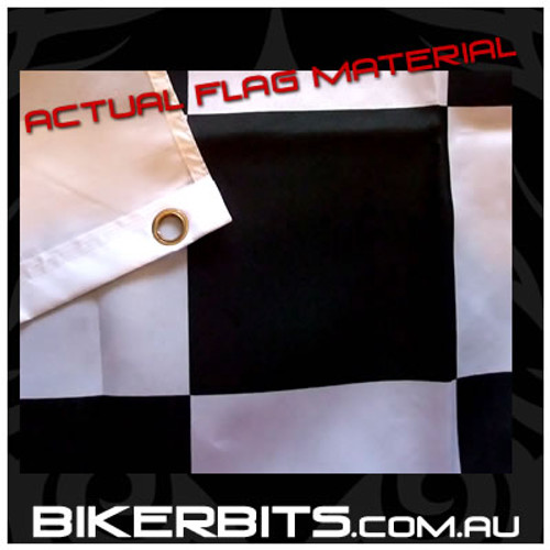 Biker Flag - Checkered Flag